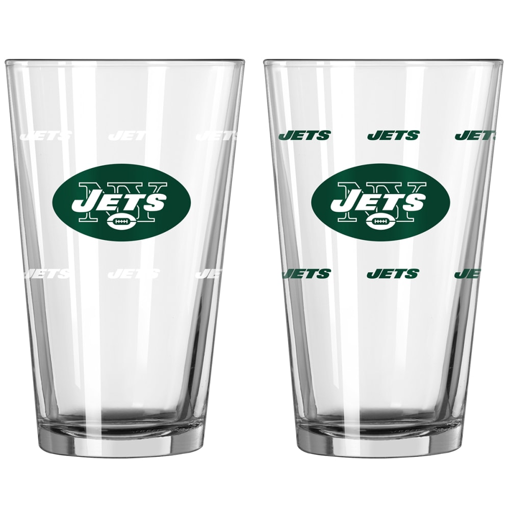 NEW YORK JETS 16 oz. NFL Color Change Pint Glass - NO COLOR
