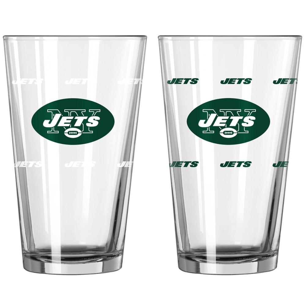 NEW YORK JETS 16 oz. NFL Color Change Pint Glass - NO COLOR