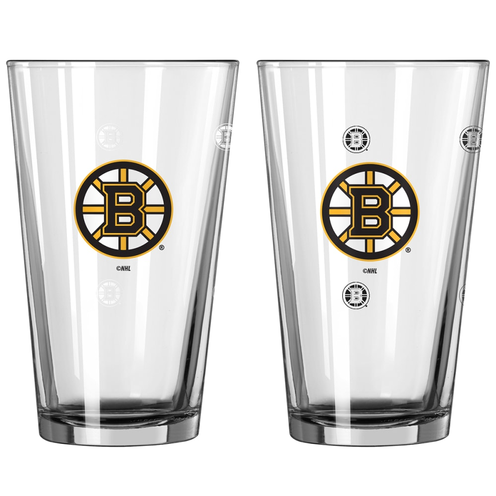BOSTON BRUINS 16 oz. NHL Color Change Pint Glass - NO COLOR