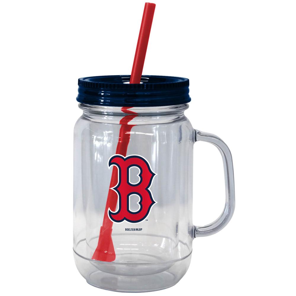 BOSTON RED SOX Mason Tumbler, 20 oz. - NO COLOR