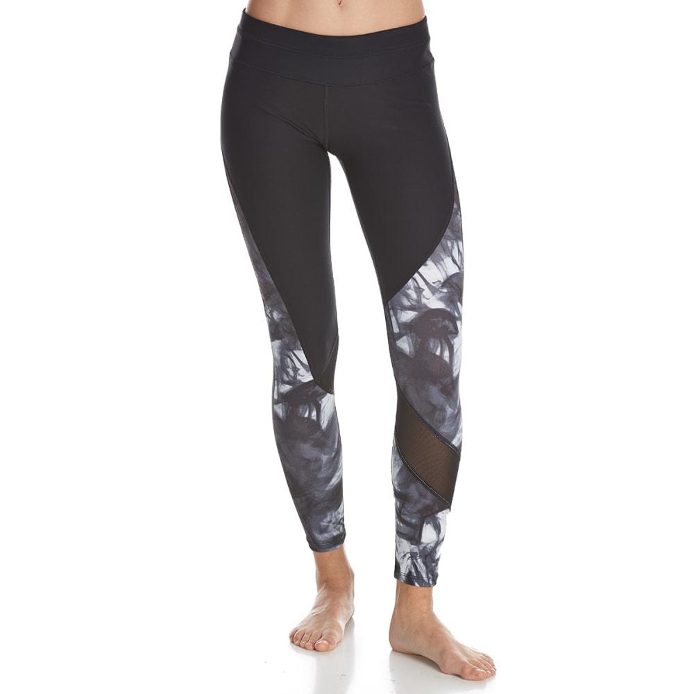 APANA Women's Tie-Dye Leggings - RICH BLACK