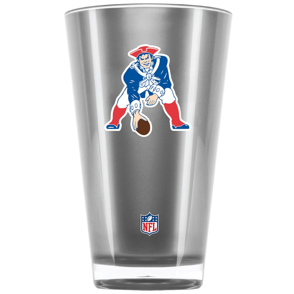NEW ENGLAND PATRIOTS Pat the Patriot 20 oz. Insulated Acrylic Tumbler - SILVER