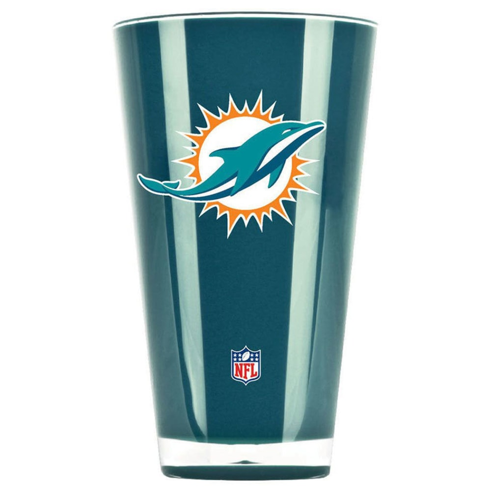 MIAMI DOLPHINS 20 oz. Insulated Acrylic Tumbler - TEAL