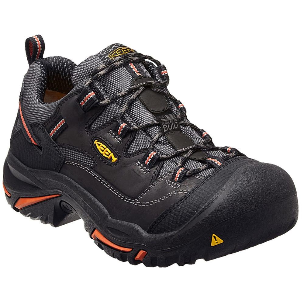 Keen Men's Braddock Low Steel Toe Work Shoes, Black