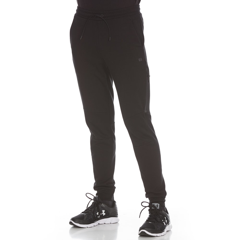LAYER 8 Men's Tech Knit 2.0 Jogger Pants - BLACK