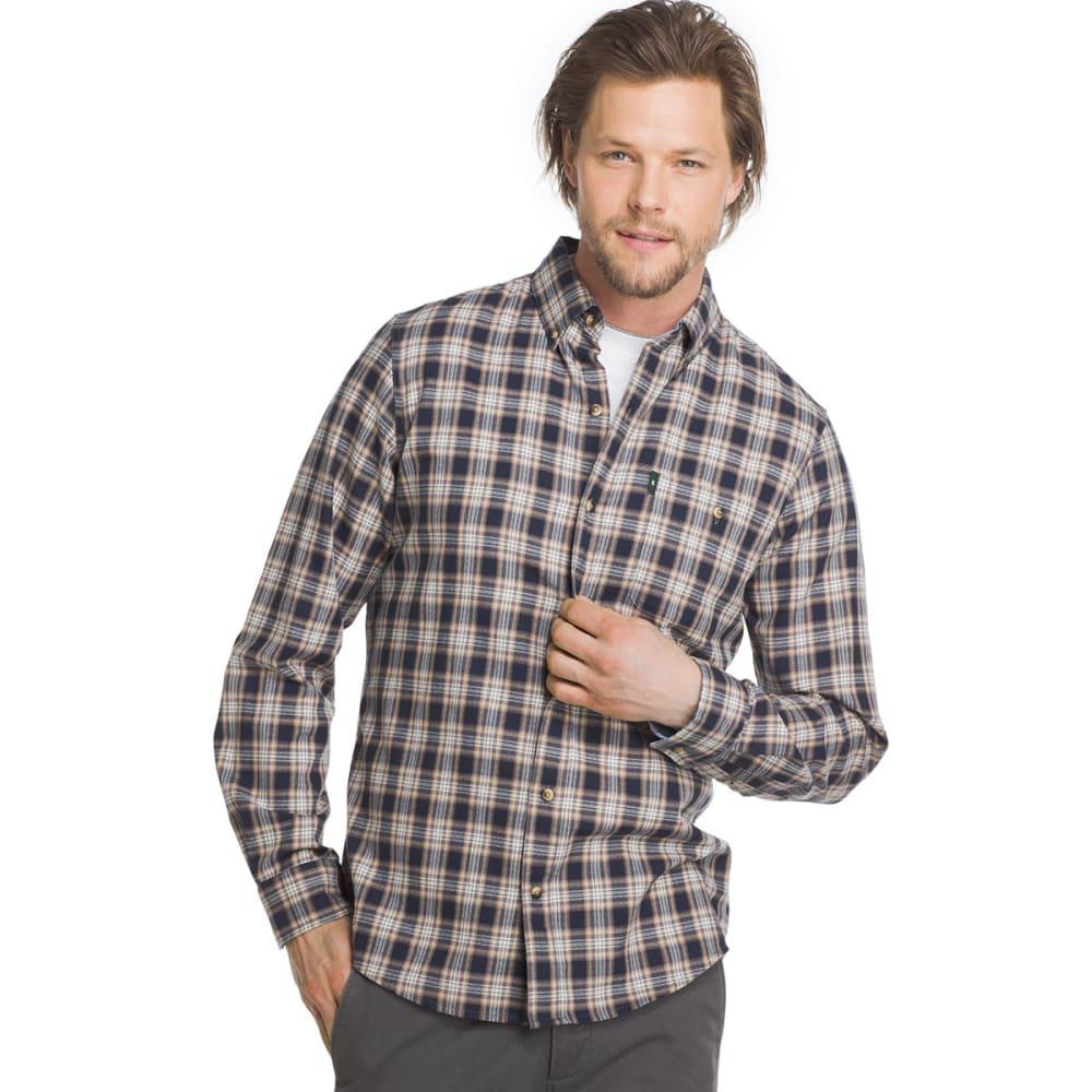 G.h. Bass & Co. Men's Campside Dobby Long-Sleeve Shirt - Blue, M