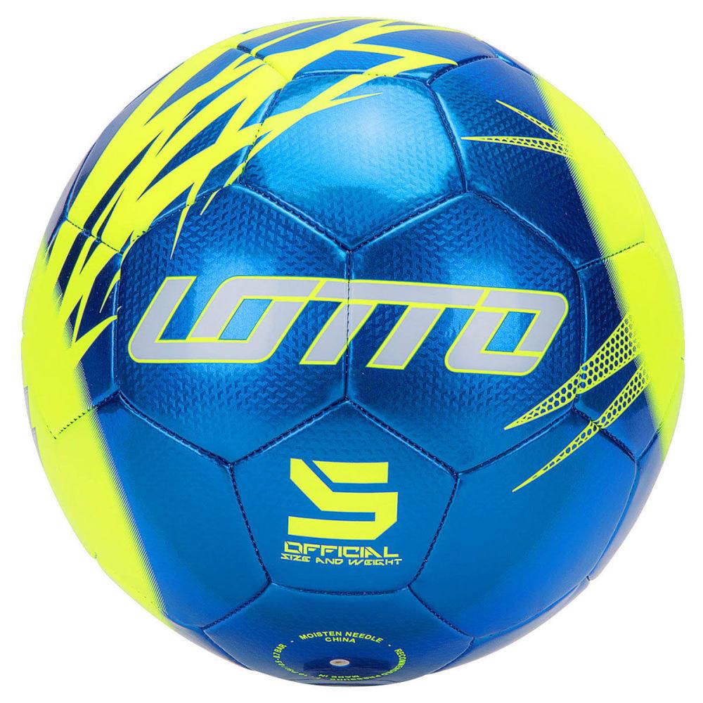 LOTTO Kids' Forza Soccer Ball, Royal Blue - ROYAL BLUE
