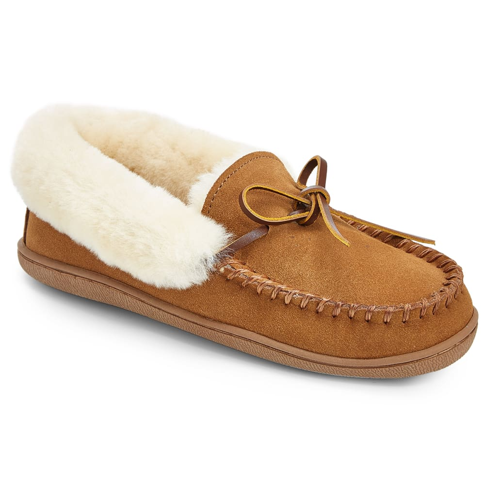 Ems(R) Women's Denali Moc Slippers, Chestnut - Brown, 6