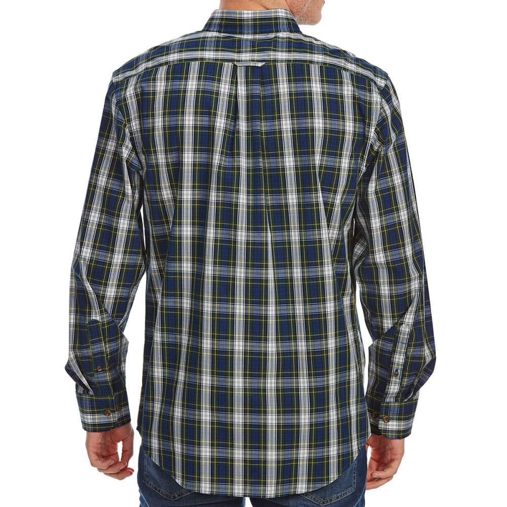 IZOD Men's Holiday Tartan Long-Sleeve Shirt - HOLIDAY SPRUCE-313
