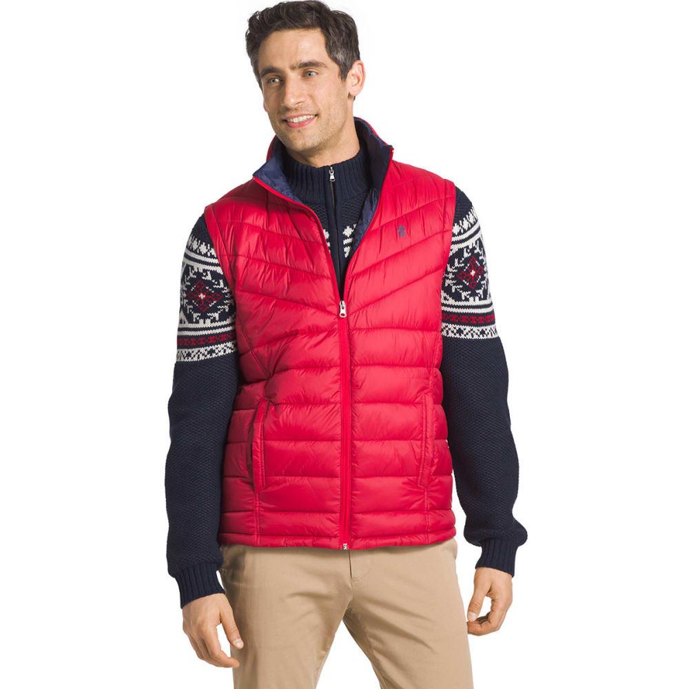 IZOD Men's Advantage Performance Puffer Vest - REAL RED-625