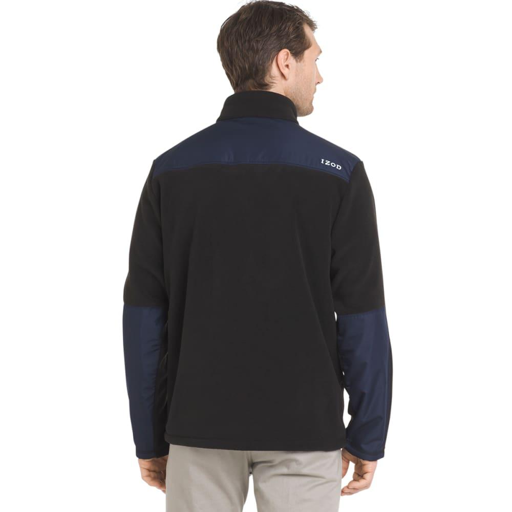 IZOD Men's Latitude Polar Jacket - BLACK-001