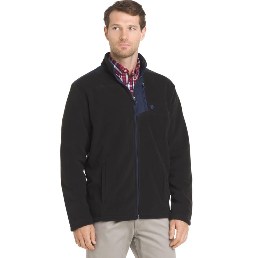 Izod Men's Latitude Polar Jacket - Black, M