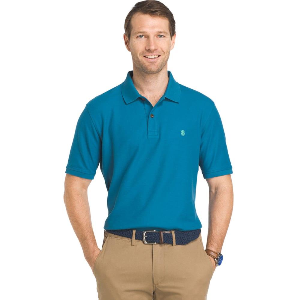 IZOD Men's Advantage Fashion Color Polo Short-Sleeve Shirt - SAXONY BLUE-488