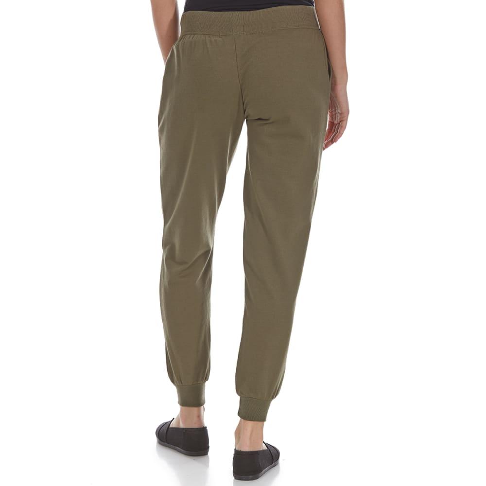 ULTRA FLIRT Juniors' Distressed Jogger Pants - 321-IVY GREEN