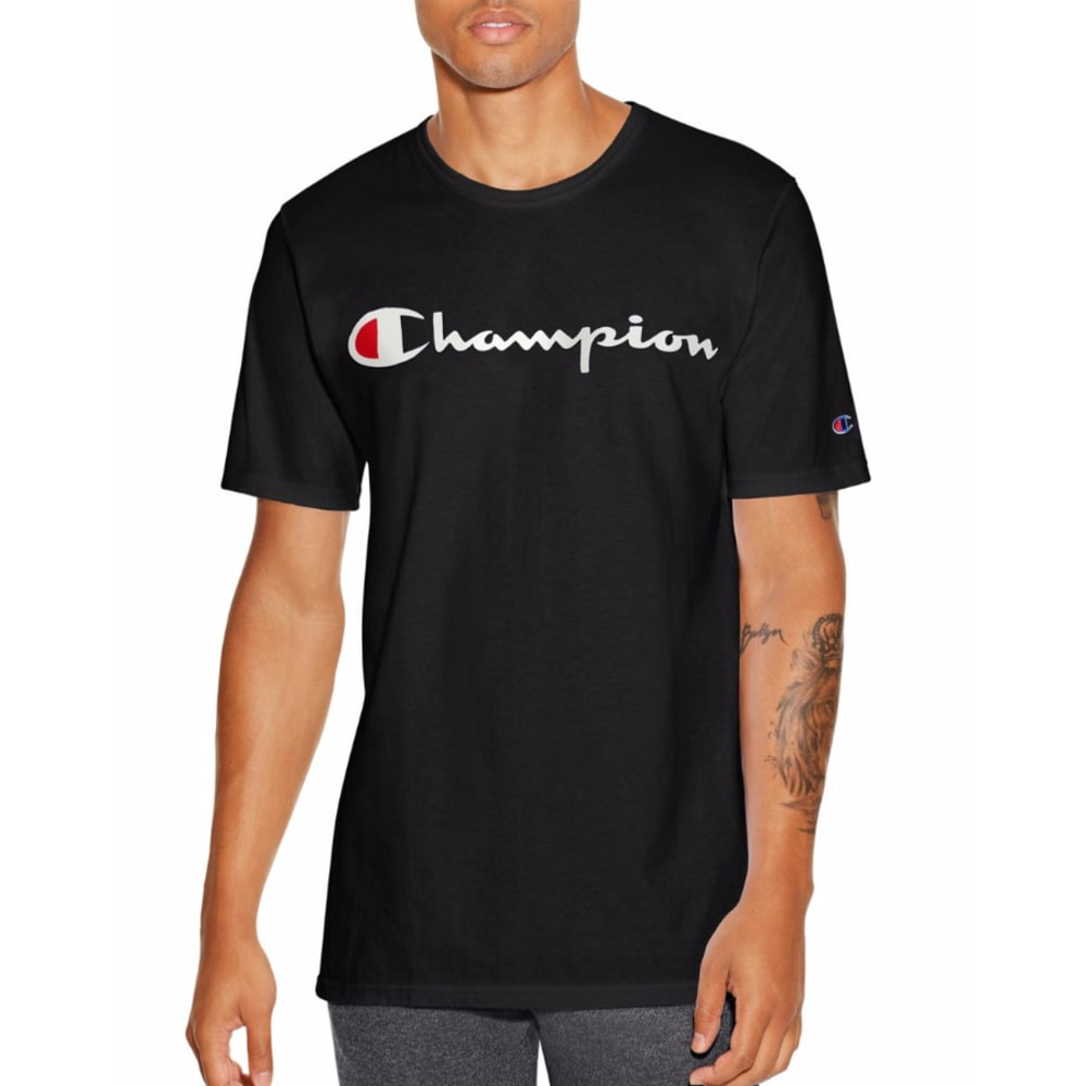 CHAMPION Men's Champion Life Graphic Tee - BLACK-BKC