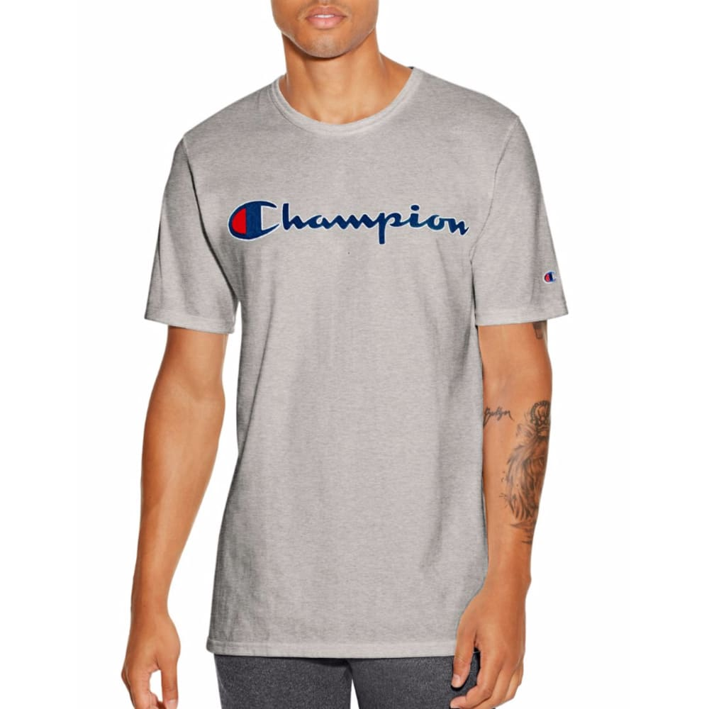 CHAMPION Men's Champion Life Graphic Tee - OXFORD-11C