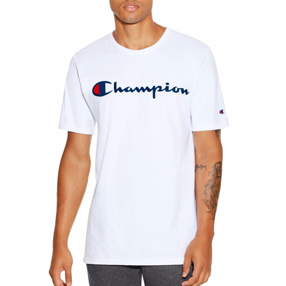 CHAMPION Men's Champion Life Graphic Tee - WHITE-WHC