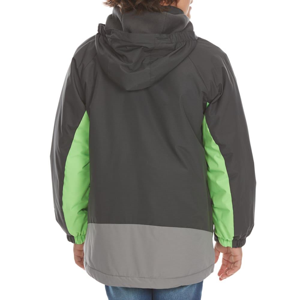 FREE COUNTRY Boys' Skyrush Boarder Jacket - LEAD PENCIL