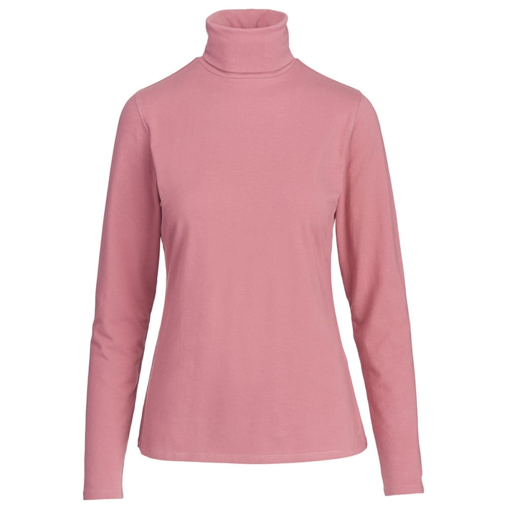 WOOLRICH Women's Laureldale Turtleneck - MESA ROSE