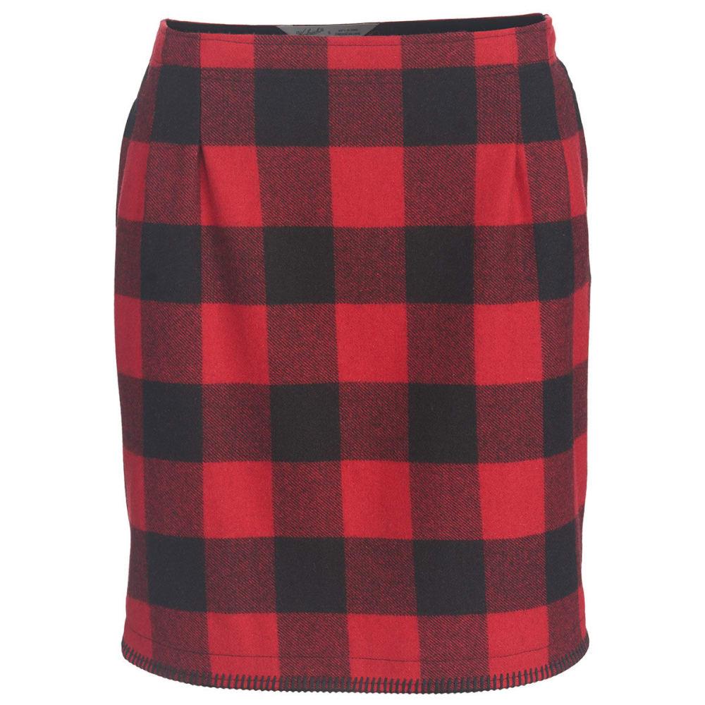 WOOLRICH Women's Richville II Wool Skirt - OLD RED