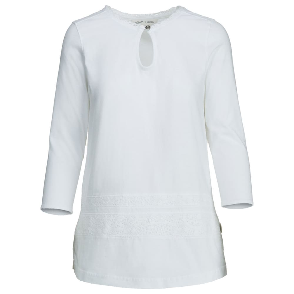 WOOLRICH Women's First Forks Pullover Tunic - SEA SALT