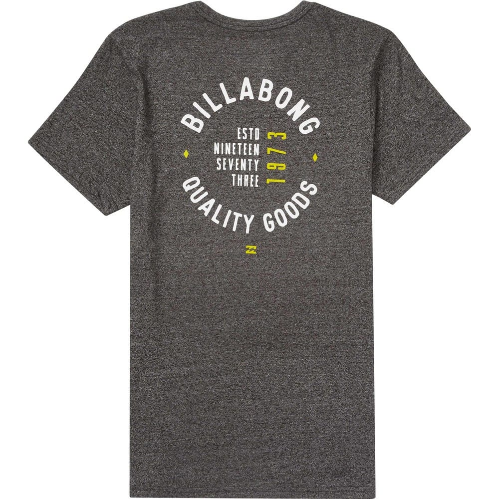 BILLABONG Men's Wallace T-Shirt - BLACK-BLK