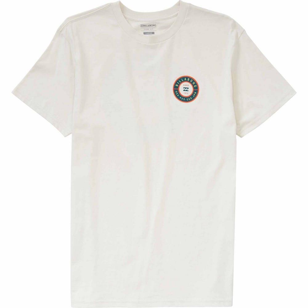 BILLABONG Men's Rotor Premium Screen T-Shirt - ROCK-ROC