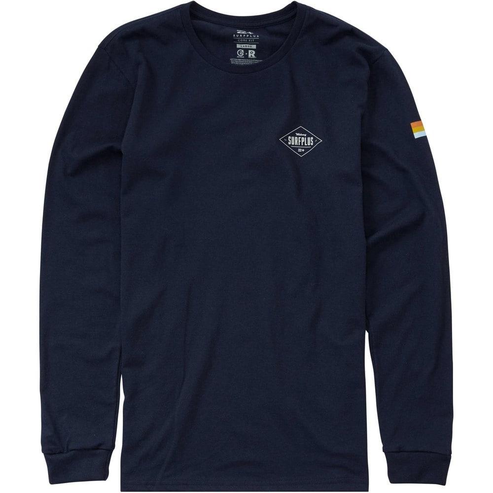 Billabong Men's Freight Long Sleeve T-Shirt - Blue, S