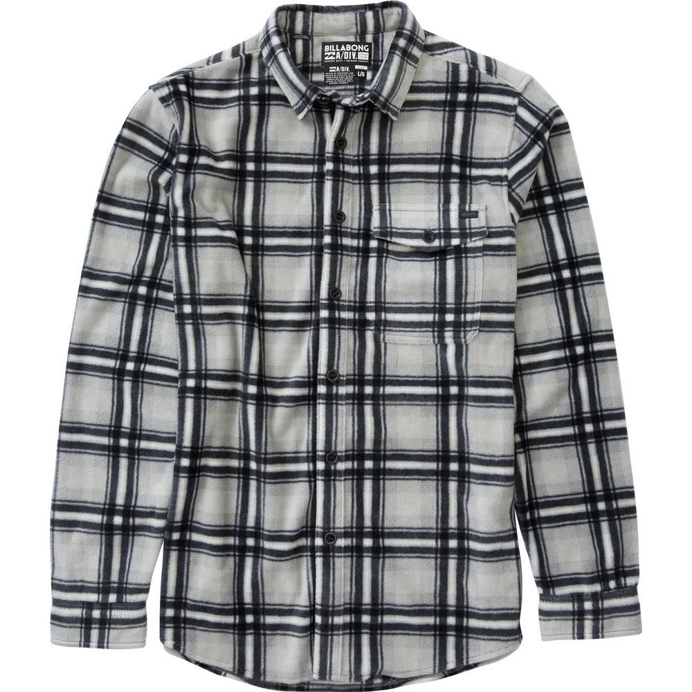 BILLABONG Men's Furnace Flannel Shirt - LT GRY-LGR