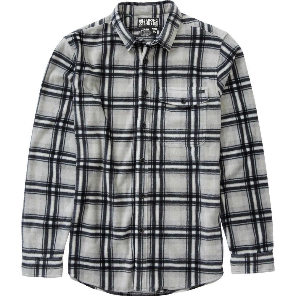 BILLABONG Men's Furnace Flannel Shirt - LT GRY-LGR