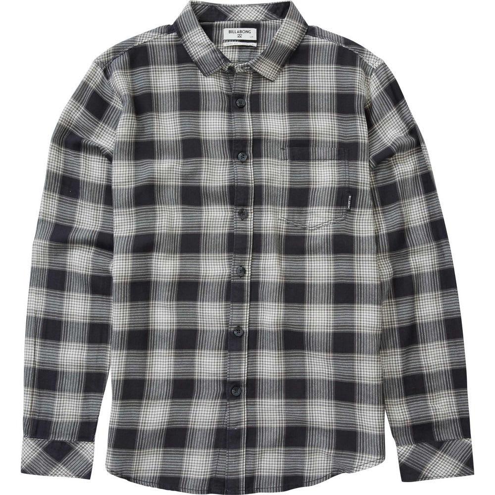 BILLABONG Men's Freemont Flannel Shirt - CHARCOAL-CRC