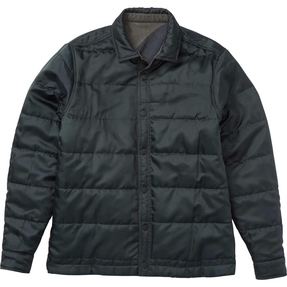 BILLABONG Men's Barlow Reversible Jacket - DK GRY HTR-DGR