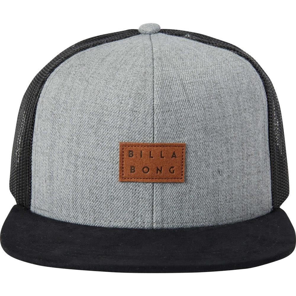 BILLABONG Men's Mixed Trucker Hat - GREY HTR-GRH