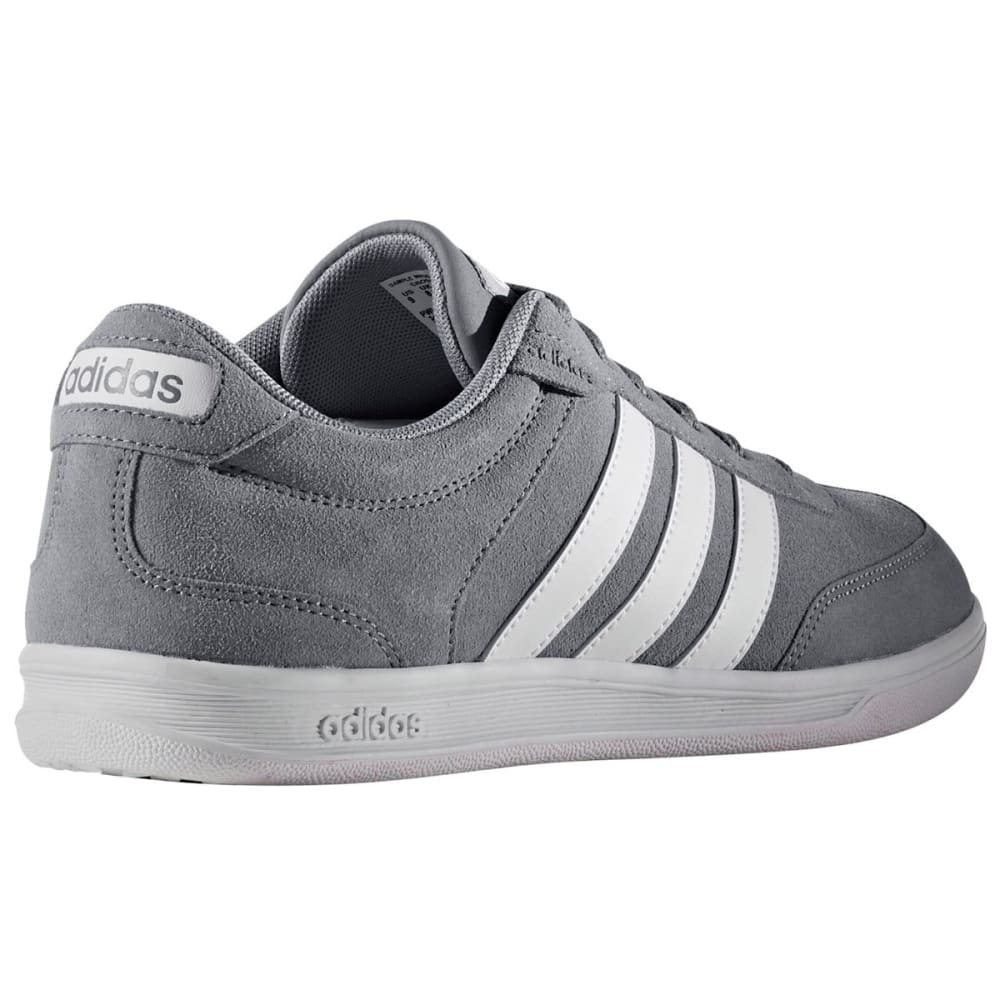 ADIDAS Men's Neo Cross Court Skate Shoes, Grey/White - GREY