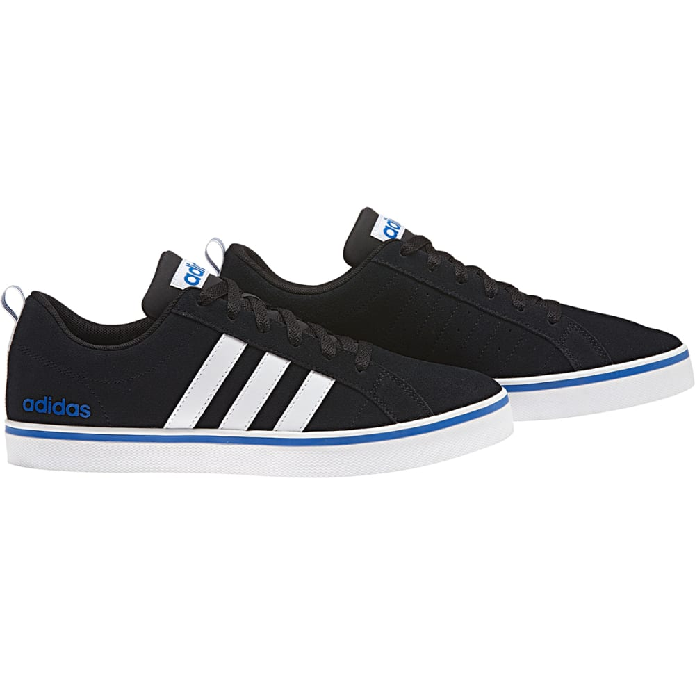 ADIDAS Men's Neo Pace Plus Skate Shoes, Black/White/Blue - BLACK