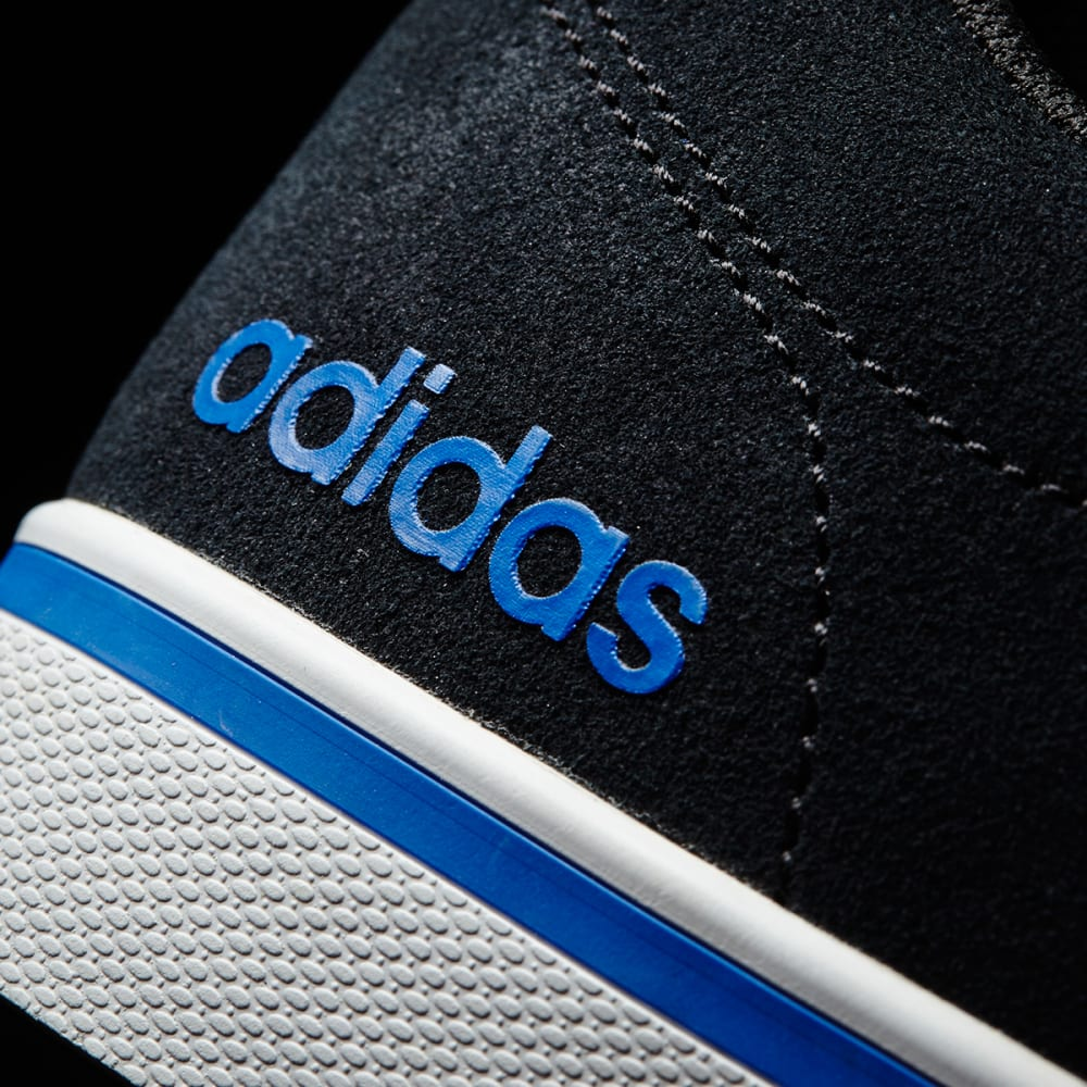 ADIDAS Men's Neo Pace Plus Skate Shoes, Black/White/Blue - BLACK