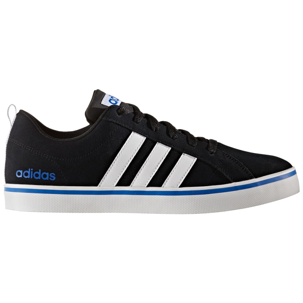 Adidas Men's Neo Pace Plus Skate Shoes, Black/white/blue