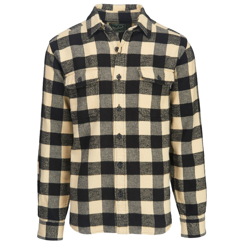 4426cb304 WOOLRICH Men's Oxbow Bend Plaid Flannel Shirt, Modern Fit - Bob's Stores