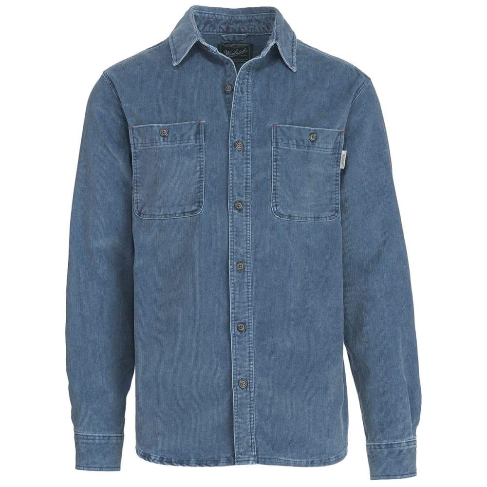 WOOLRICH Men's Hemlock Cordury Shirt II - SHADOW