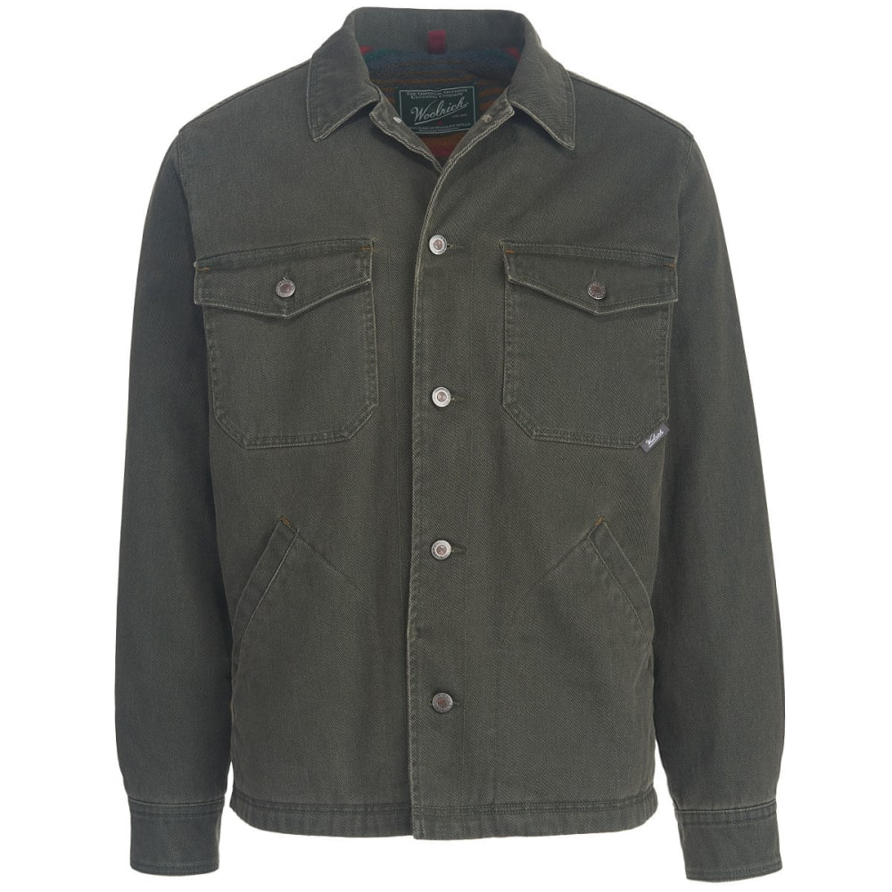 WOOLRICH Men's Dorrington Barn Coat - ASPHALT