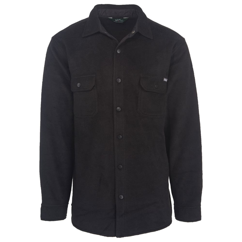 WOOLRICH Men's Andes Fleece Shirt Jac - BLACK