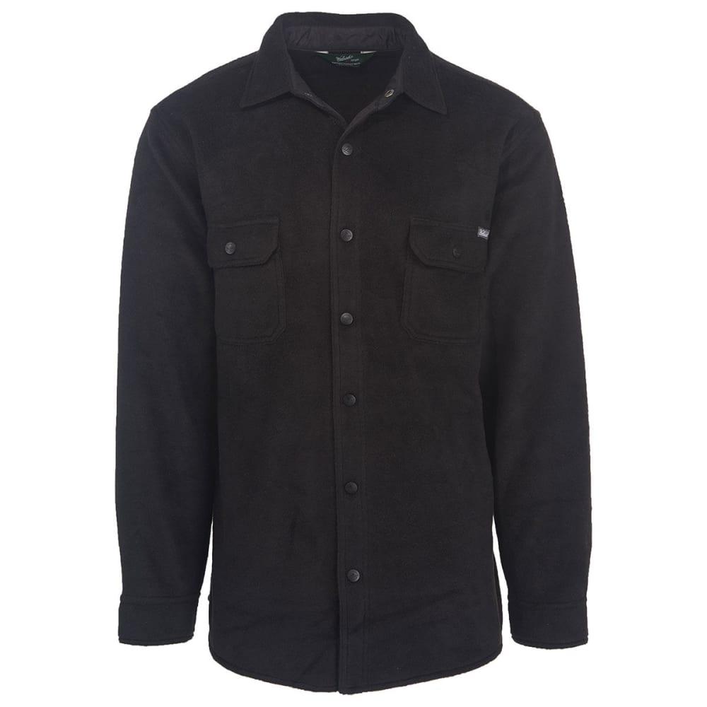 WOOLRICH Men's Andes Fleece Shirt Jac - BLACK