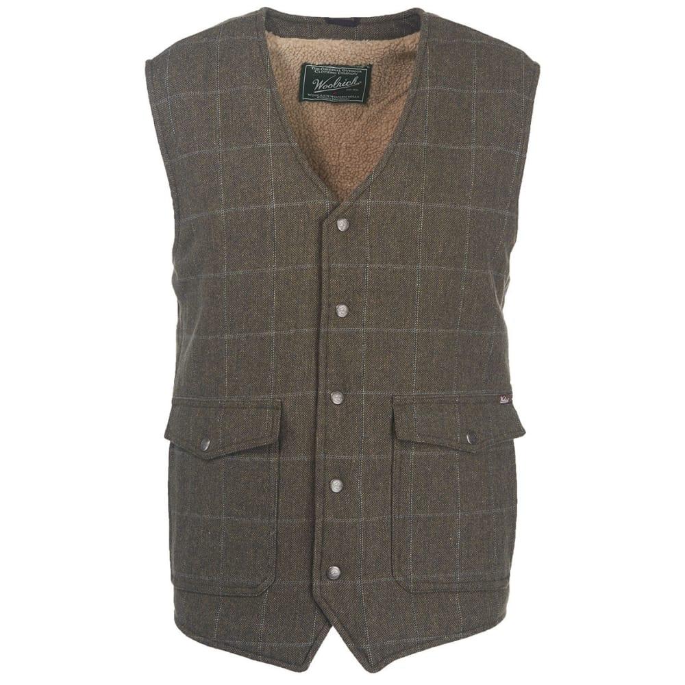 WOOLRICH Men's Teton Wool Vest - GRAY