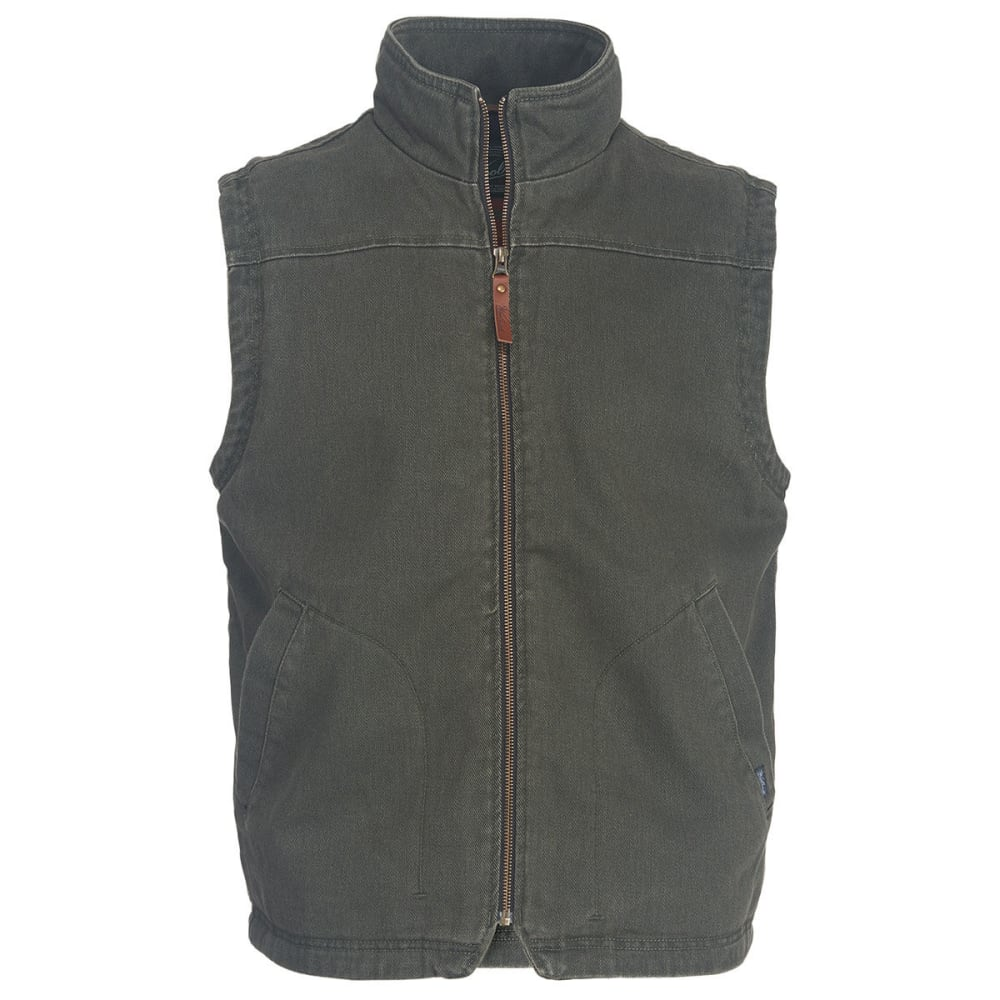 WOOLRICH Men's Dorrington II Barn Vest - ASPHALT