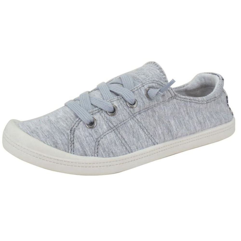 JELLYPOP Women's Dallas Fabric Sneakers, Grey - GREY-JRBOFA030