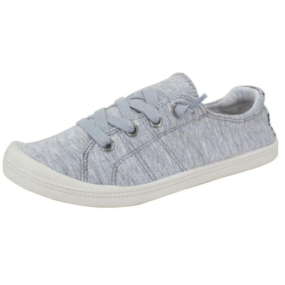 JELLYPOP Women's Dallas Fabric Sneakers, Grey - GREY-JRBOFA030