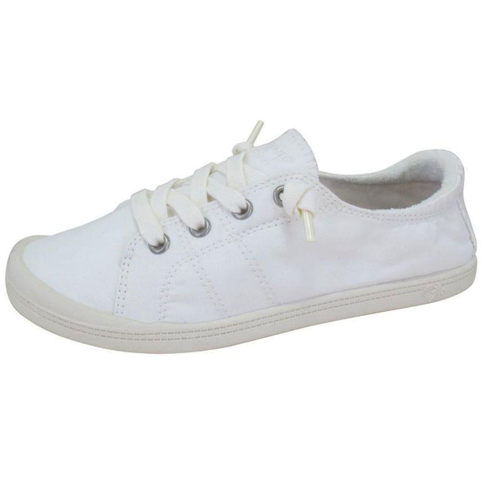 JELLYPOP Women's Dallas Fabric Sneakers, Grey 6