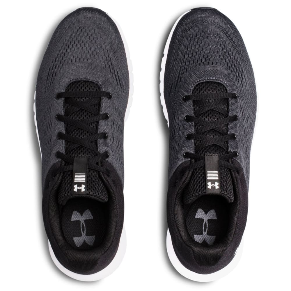 UNDER ARMOUR Men's Micro G Pursuit Running Shoes - BLK/WHT-102