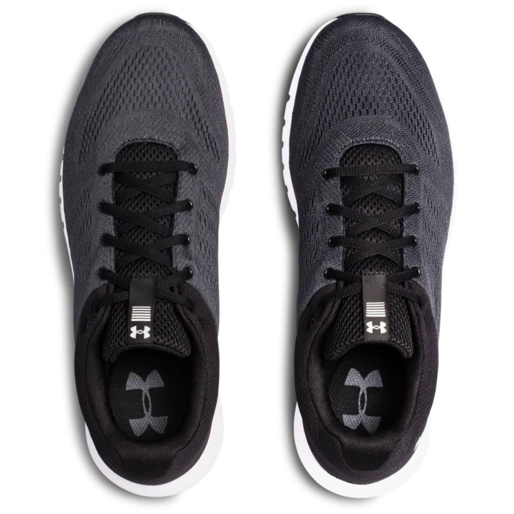 UNDER ARMOUR Men's Micro G Pursuit Running Shoes - BLK/WHT-102