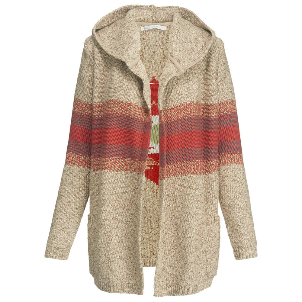 WOOLRICH Women's Blue Spruce Cardigan Sweater Coat - BURLAP MARL